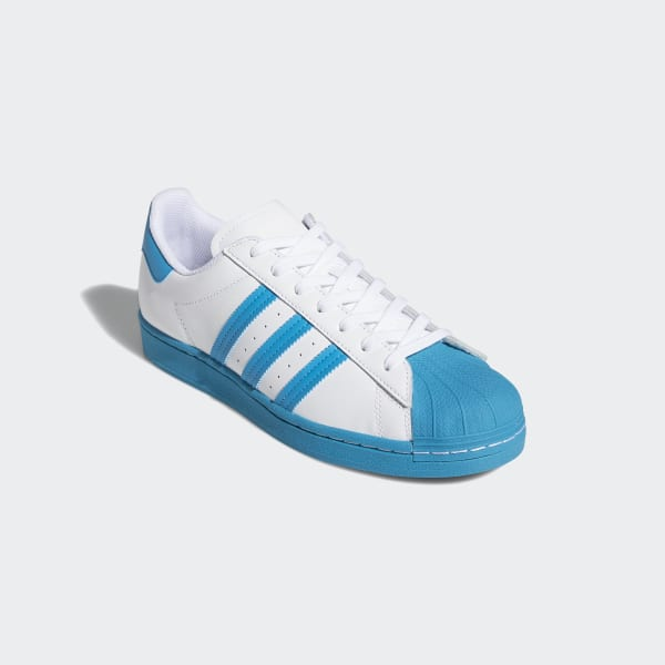 Adidas Superstar Cloud White Bold Aqua Men's Shoe