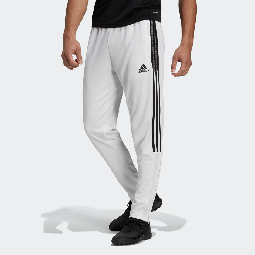 Adidas Tiro 21 Double Knit Track Pants (White)