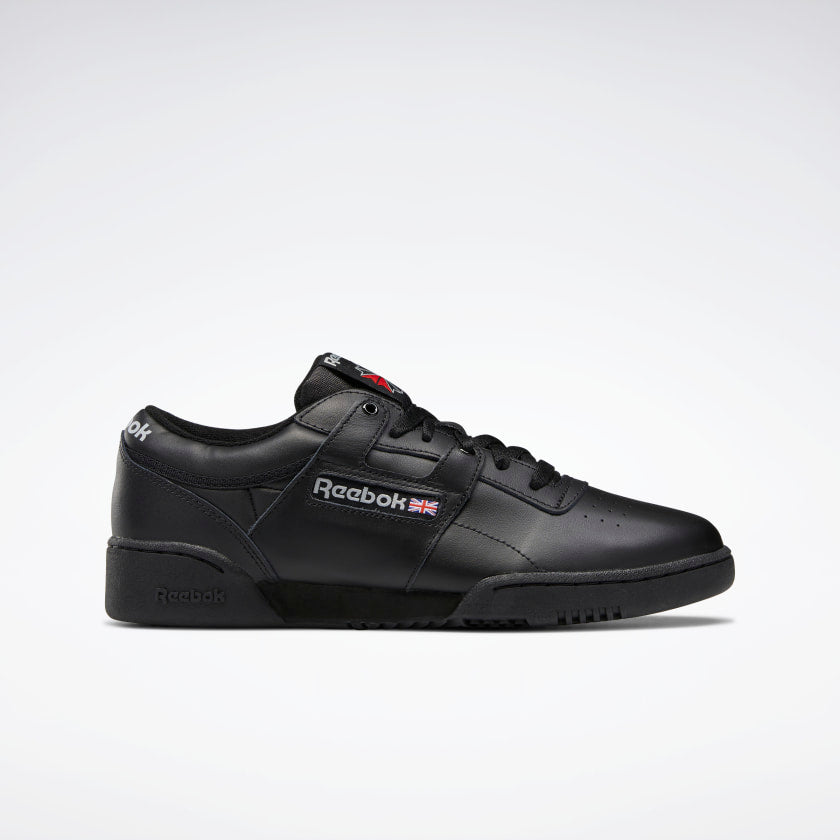 Reebok Workout Low Men's Shoes - Black