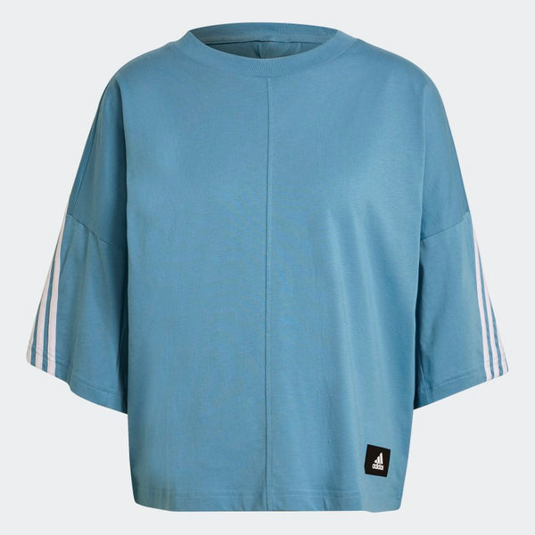 Adidas Sportswear Future Icons 3-Stripes Tee - Blue