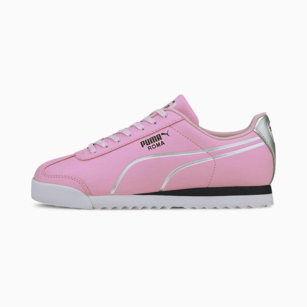 PUMA Roma Shine Pink/Silver Sneakers JR