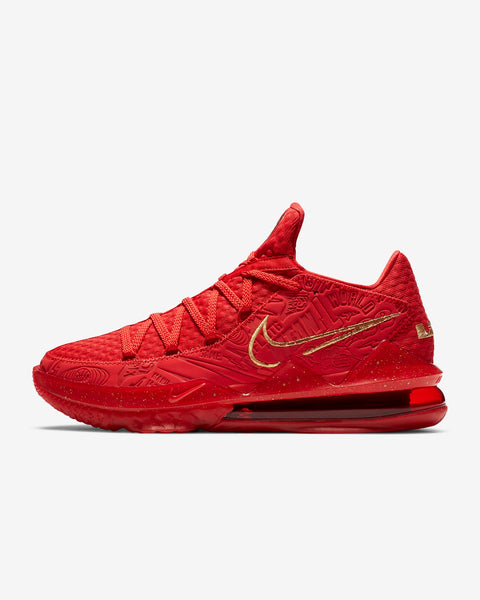 Nike Lebron XVII Low (Red) PH Basketball Shoe