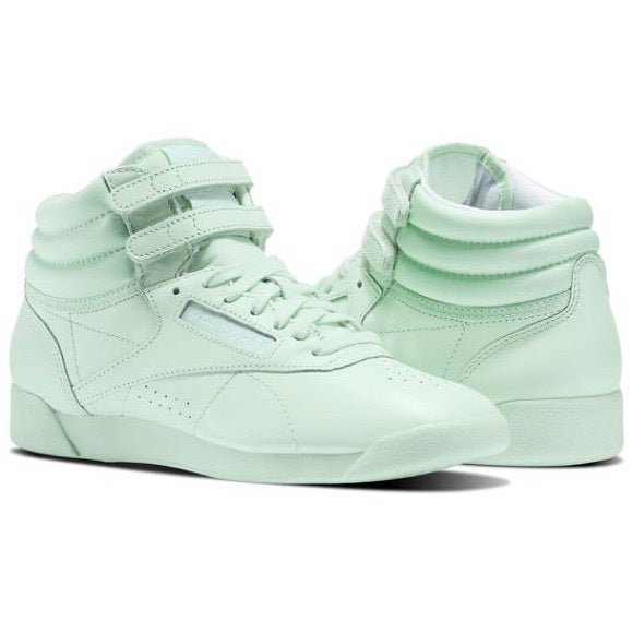 Reebok Lifestyle Freestyle Hi Lime Glow/White
