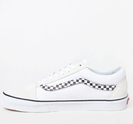 Vans SIDESTRIPE V OLD SKOOL TRUE WHITE