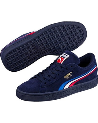 Puma Girls Suede Navy