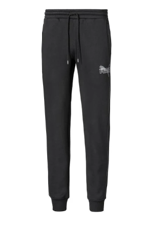 Puma Mens Iridescent Pack Sweat Pants Black