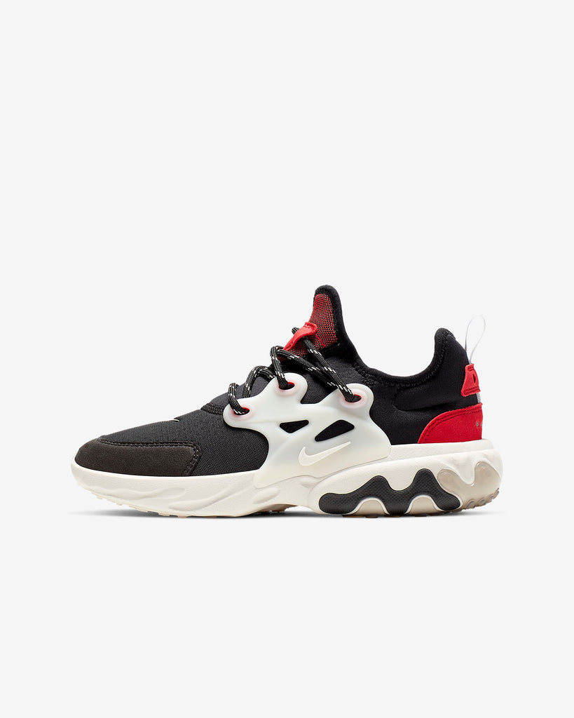 Nike React Presto Black Phantom Red (GS)