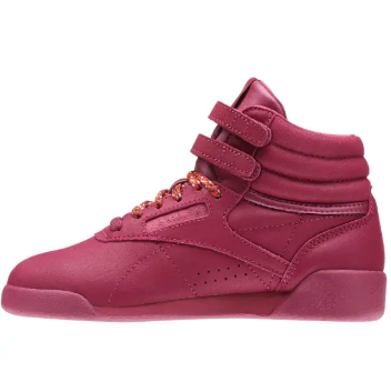 Reebok Lifestyle Freestyle Big Kid's Hi Twisted Berry