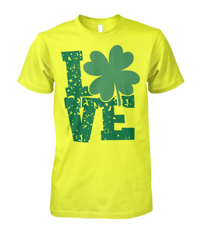 St. Patrick's Day Love Clover Tshirt