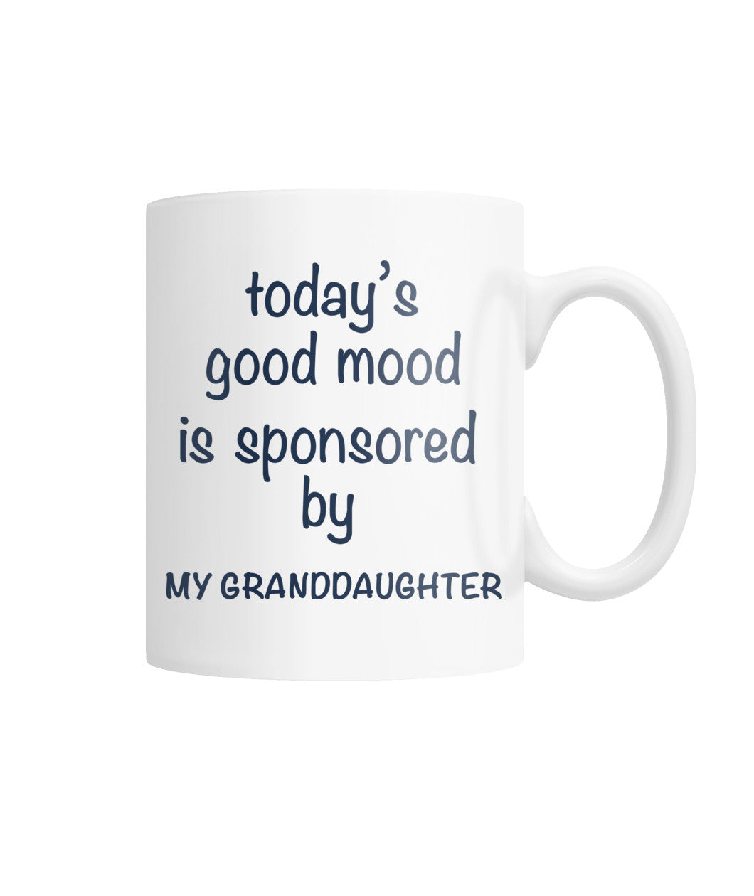 Today's good mood mug White Coffee Mug