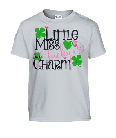Little Miss Lucky Charm Kids Shirt