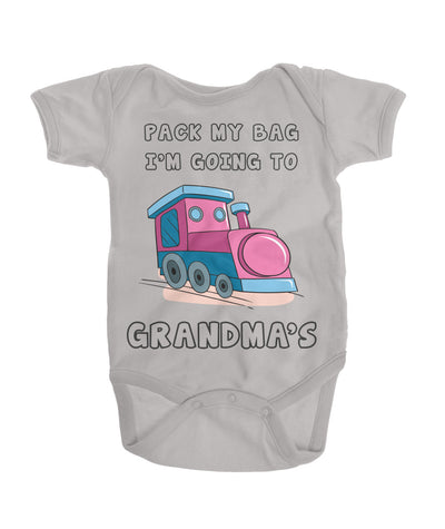 Pack my bag, I'm going to Grandma's Onesie