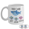 Personalized Daddy Shark Mug