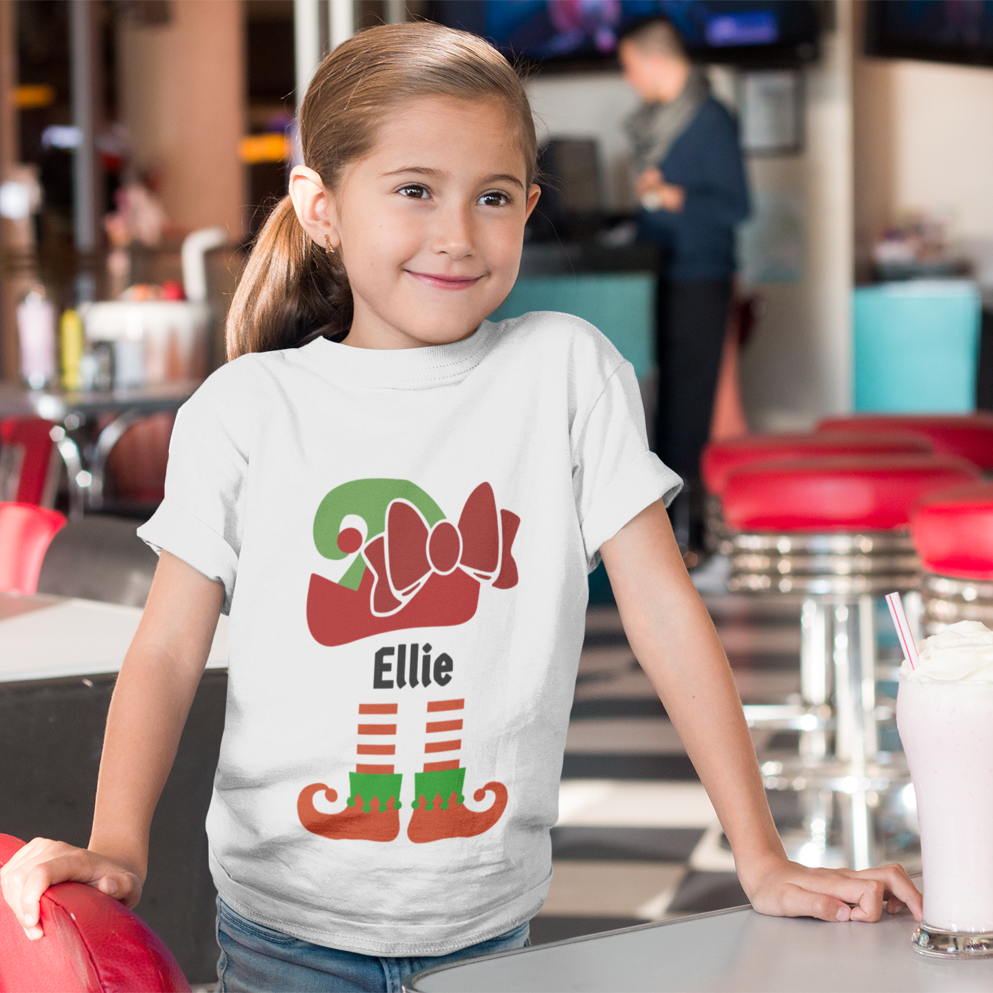 Youth Elf T-Shirt (8 - 12 Years)