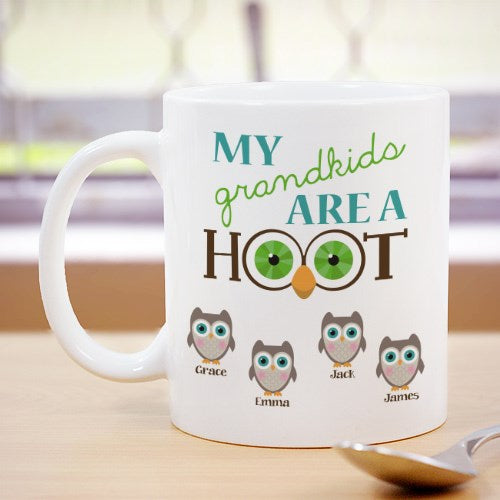 My Grandkids Are a Hoot Coffee Mug
