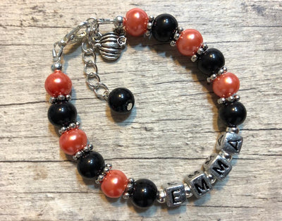 Pumpkin Name Bracelet (Limited-Edition)