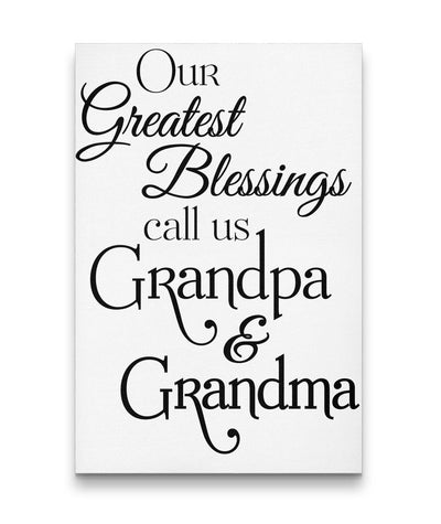 Our Greatest Blessings Wall Art