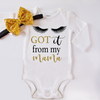 Adorable Baby Girl Coming Home Bodysuit