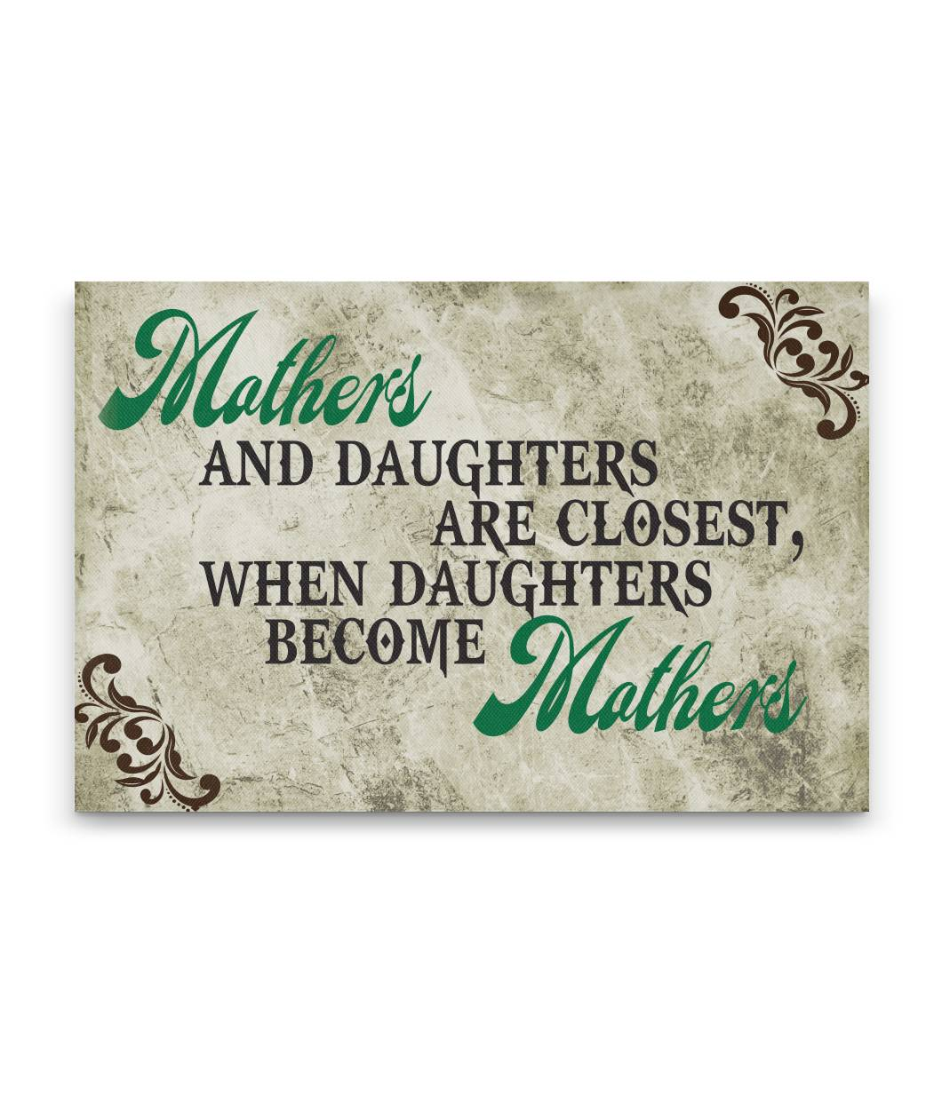 Mothers and Daughters Canvas Wall Art
