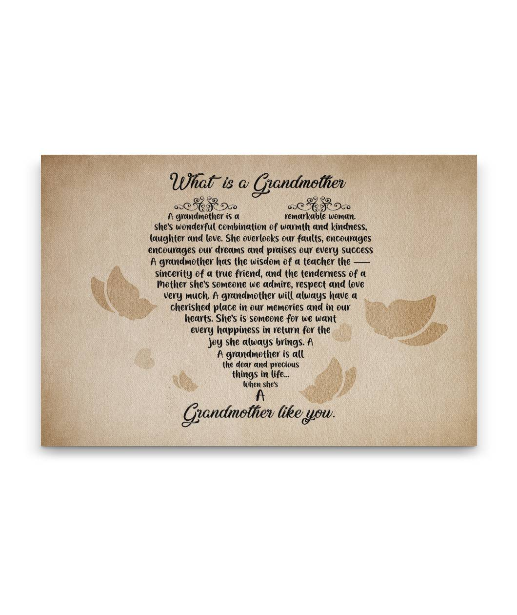What is a Grandmother Wall Art
