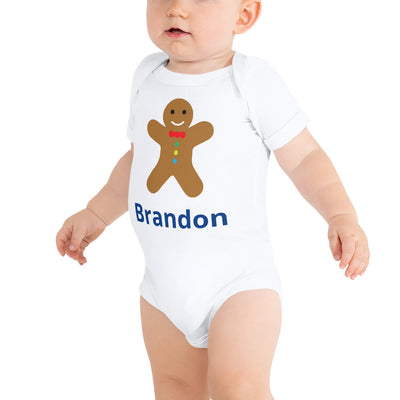 Personalized Christmas Cookie Onesie