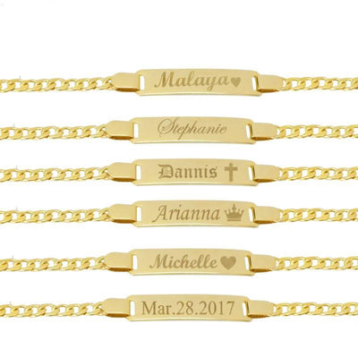 14k Stunning Gold-Filled Personalized Bracelet