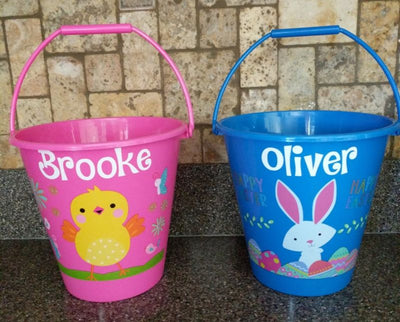Personalized Decorative Easter Basket
