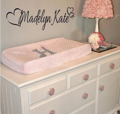 PERSONALIZED GIRLS Name Wall Art