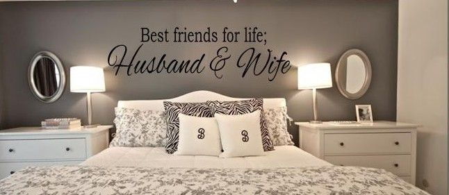 Best Friends For Life Husband Wife Wall Art Decal Avasplayroom