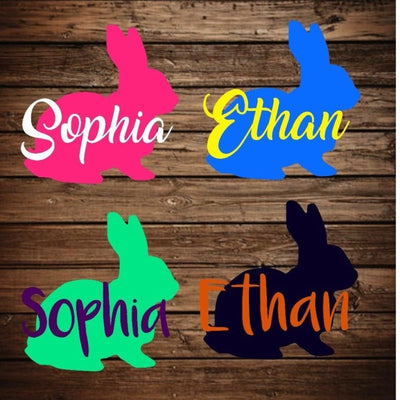 Personalized Easter Basket Sticker