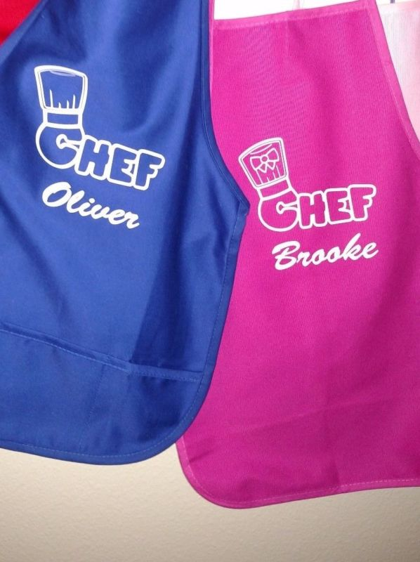 Personalized Child's Chef Apron