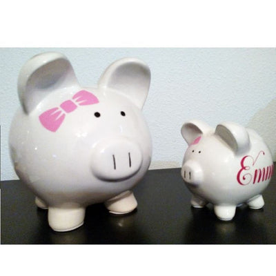 Personalized Ceramic Piggy Bank