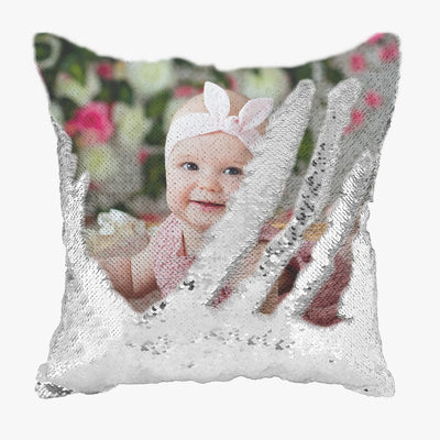 Photo Sequin Pillowcase (Made to Order)