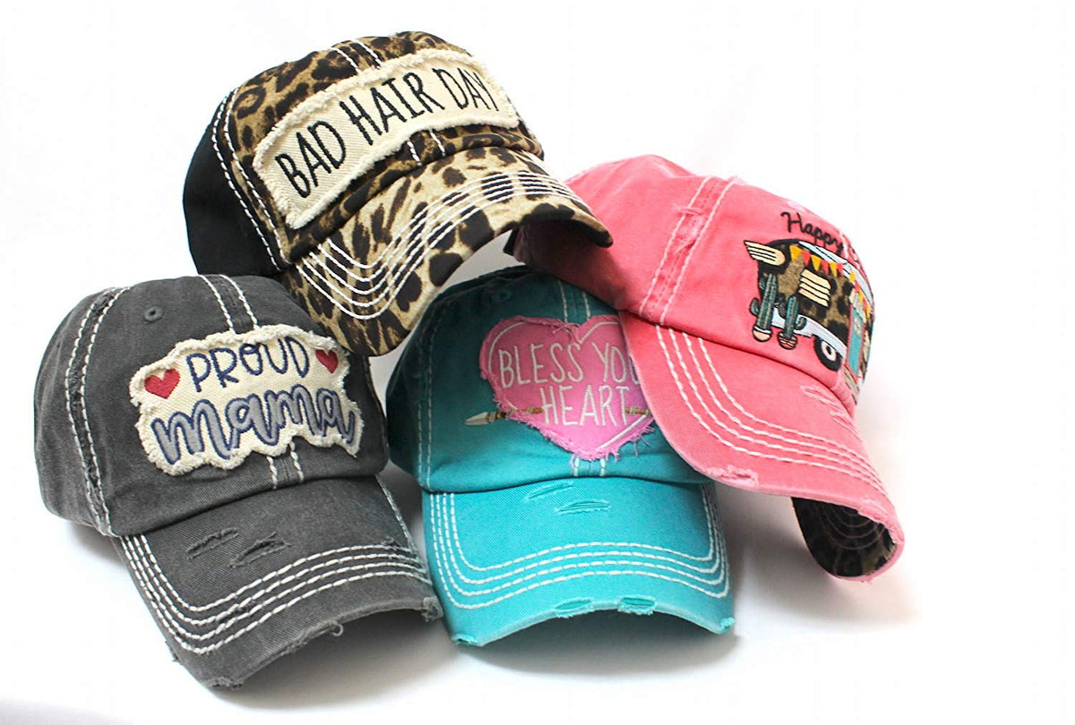 Light Baby Pink This Ain't My First Rodeo Women's Hat - Caps 'N Vintage