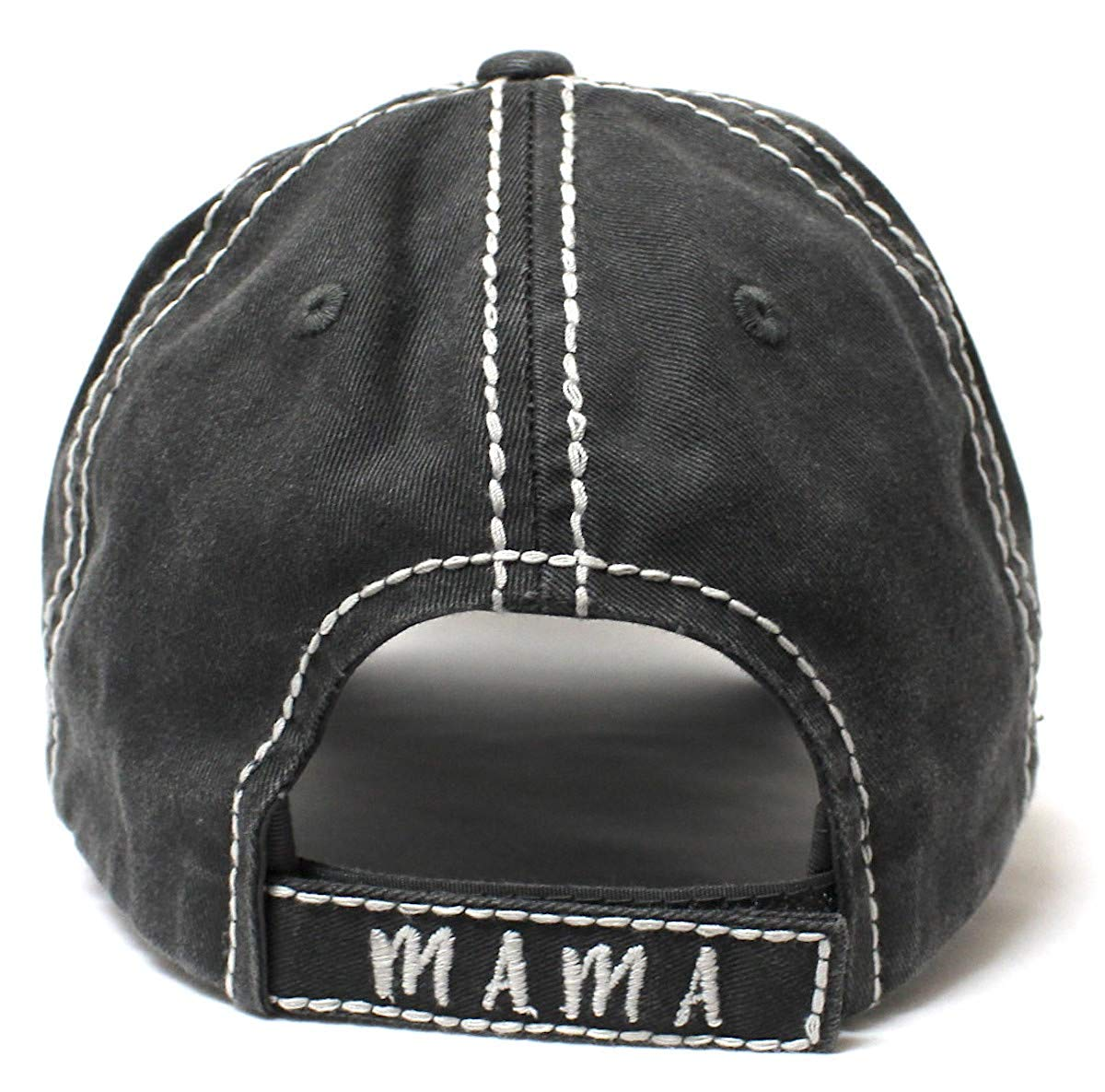 Women s Christmas Themed Mama Bear Monogram Ballcap - Caps  N Vintage d4413b91258