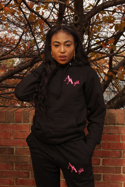 A&A Tracksuit in Black