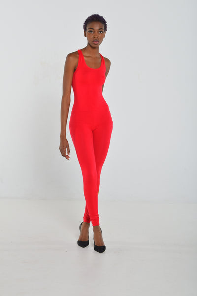Andrews Apparel Rose Red Bodysuit