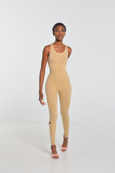 Andrews Apparel Deep Cream Bodysuit