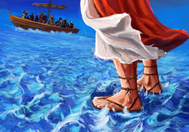 Jesus Walks on the Water 1 (Matthew  14.25-33)