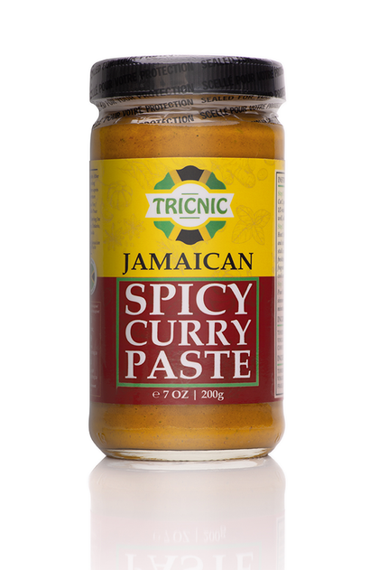 Tricnic Jamaican Spicy Curry Paste - Crowned Spice Trading Company Ltd.
