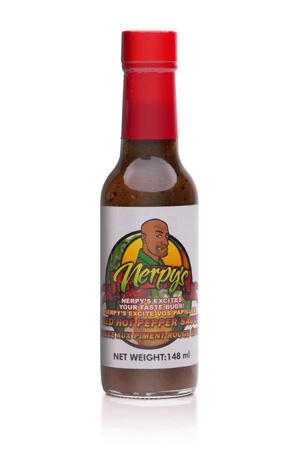 Nerpy's Red Hot Pepper Sauce