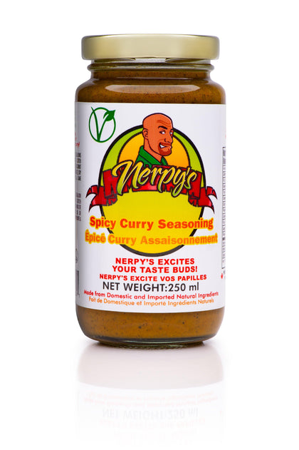 Spicy Curry Marinade - crownedspice.com