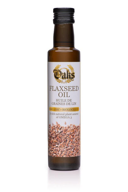 Oaks Flaxseed Oil - crownedspice.com