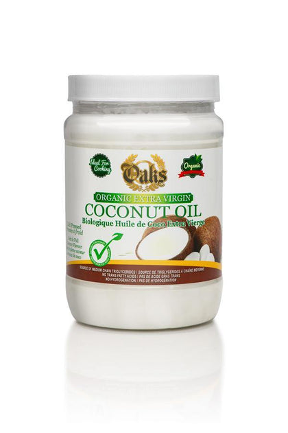 Oaks Organic Extra Virgin Coconut Oil - crownedspice.com