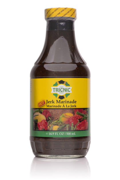 Tricnic Hot Jerk Marinade - crownedspice.com