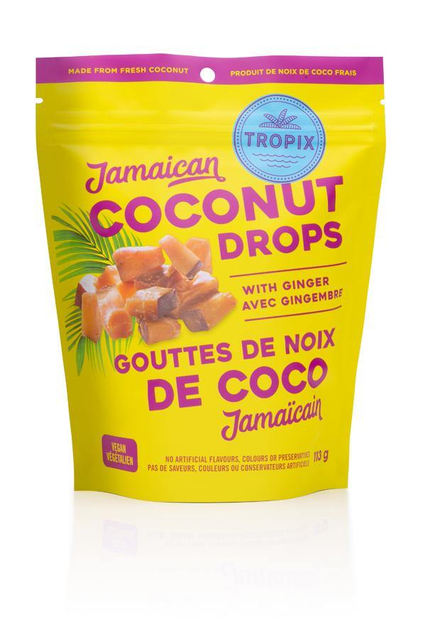 Tropix Ginger Coconut Drops