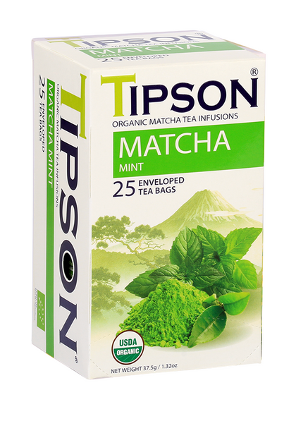 Organic Matcha & Mint Tea - Crowned Spice Trading Company Ltd.