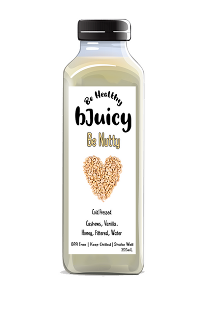 Be Nutty Cold Pressed Juices - Crowned Spice Trading Company Ltd.