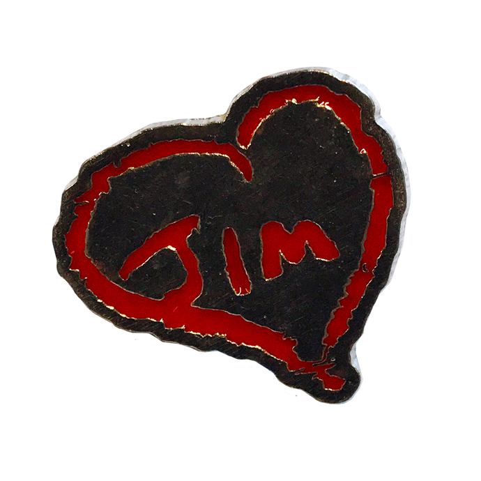 Jim James - Heart Enamel Pin