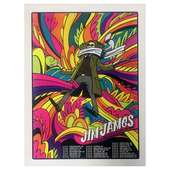 Jim James - 2019 Tour Poster
